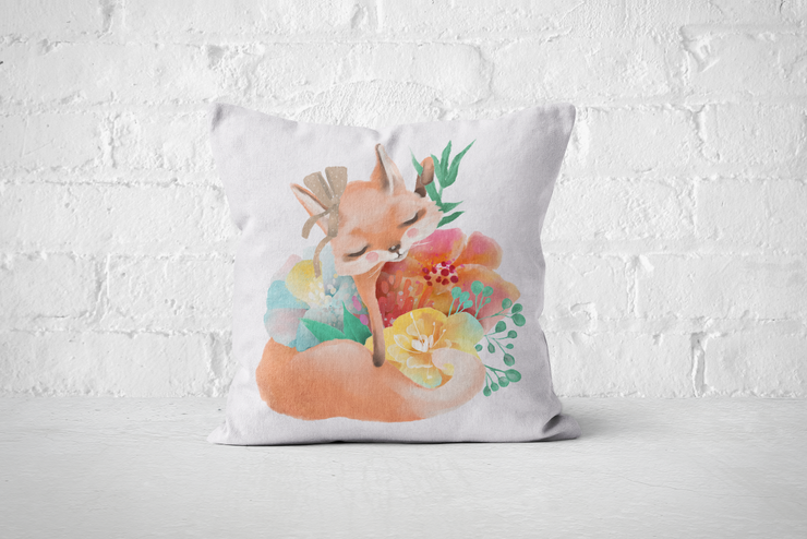 Pretty Letters Pillow Cover - Fox 2 by But Why Not