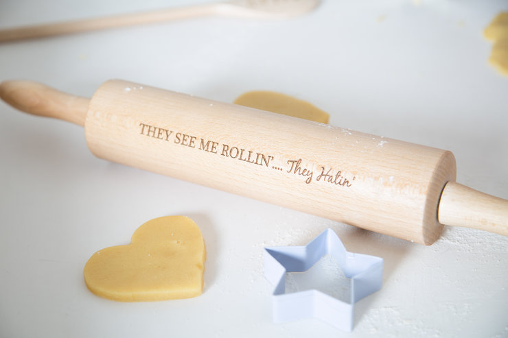 They See Me Rollin' - Rolling Pin  by Annie's Baking Club