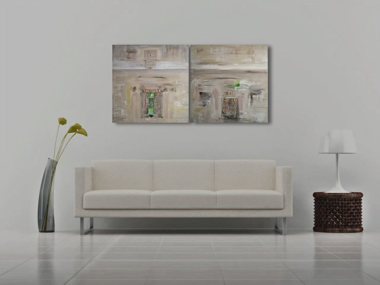 Abstract Paintings | Large Art  by  ImPrintable | Art
