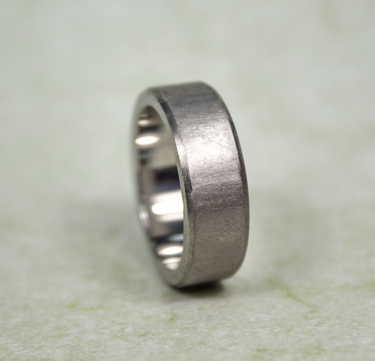 Gent's Titanium Band by Aztec Jewellery  Company
