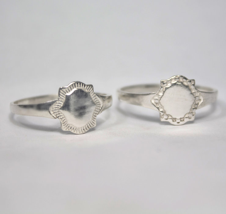 Sterling Silver Signet Rings - Engravable by Aztec Jewellery  Company