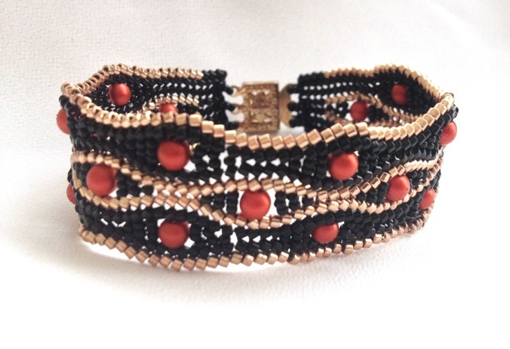 Bead Bracelet - AKJ017 by AnKa Jewellery