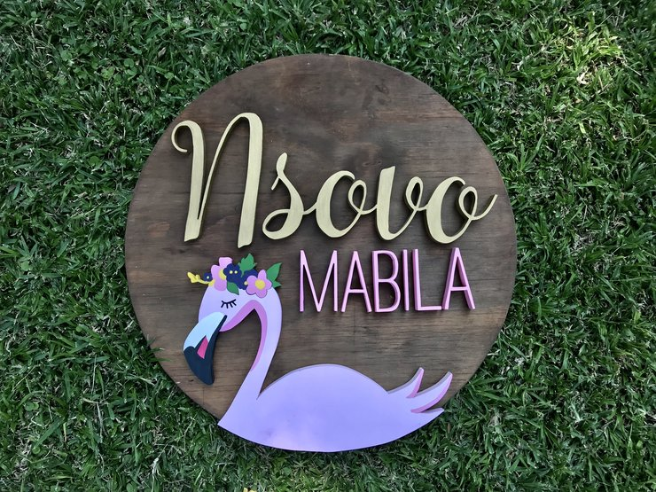 Wooden name sign, name sign, nameplate, kids name sign, cutout name, 3D name, kids room decor, room decor, home decor by Hope Creations