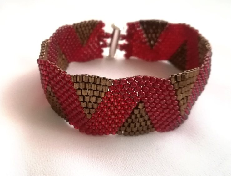 Bead Bracelet - AKJ035 by AnKa Jewellery