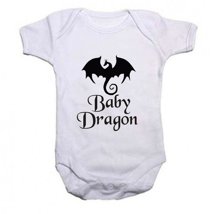Baby Dragon Baby grow by Qtees Africa (Pty)Ltd