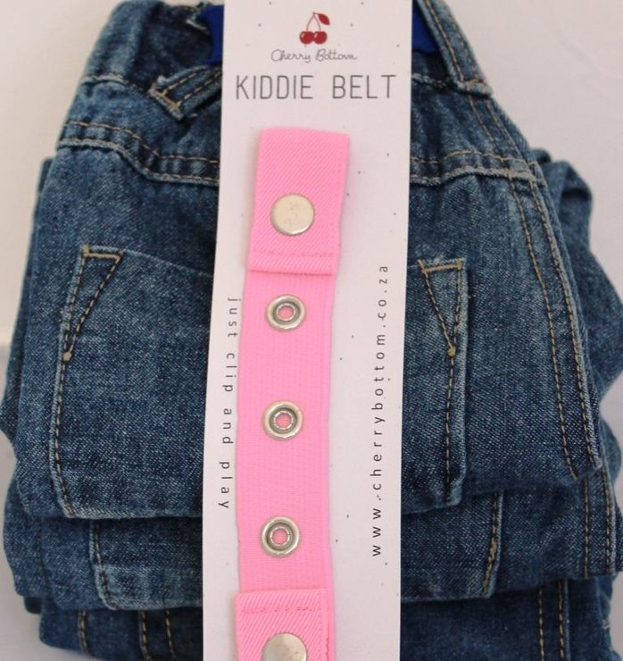 Kiddie Belt Pretty (Baby) Pink by Cherry Bottom Kiddie Belt
