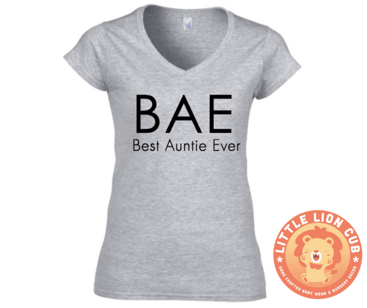 b090f036d BAE (Best Auntie Ever) T-Shirt/ Best Auntie T-Shirt/ Future Aunt ...