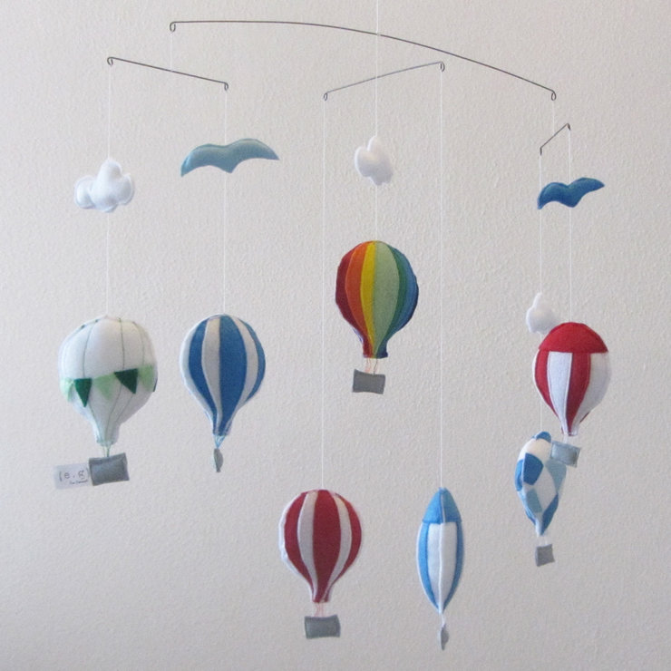 Hot Air Balloons - Large by For Example