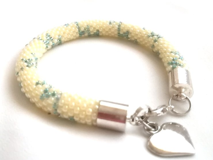 Bead Crochet Bracelet - AKJ019 by AnKa Jewellery