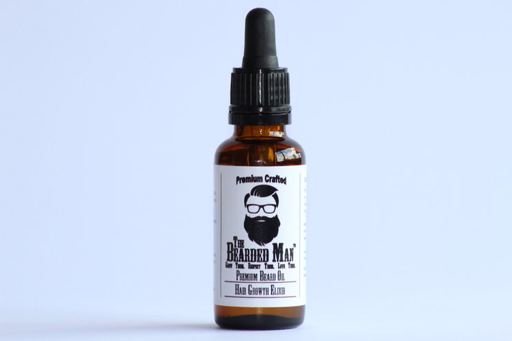 Premium Beard Growth Elixir - 30ml by The Bearded Man SA