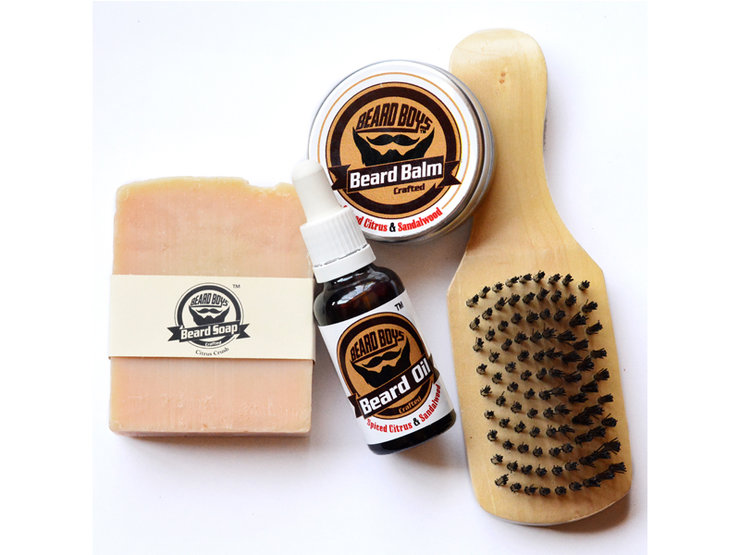 Beard Grooming Starter Kit by Beard Boys