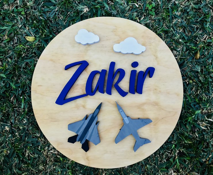 Name sign, wooden name, personalized wooden name, home decor, wooden decor, kids room decor, baby name by Hope Creations
