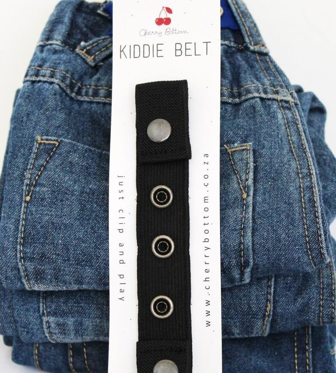Kiddie Belt Basic Black by Cherry Bottom Kiddie Belt