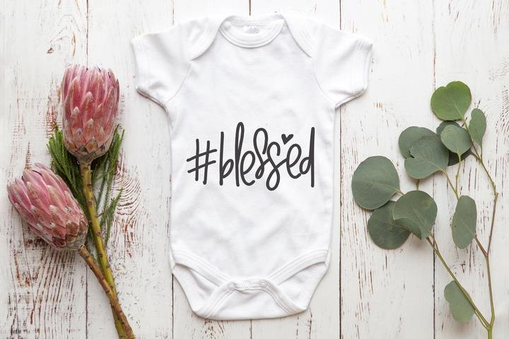 # Blessed baby vest by Finesse Studio
