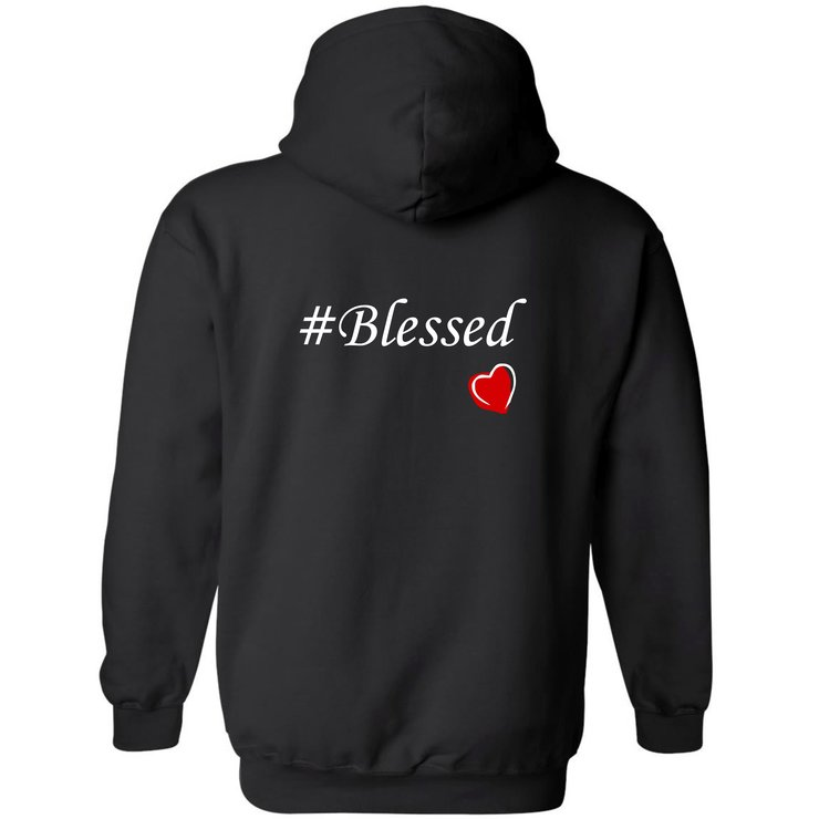 Blessed Hoodie by Qtees Africa (Pty)Ltd