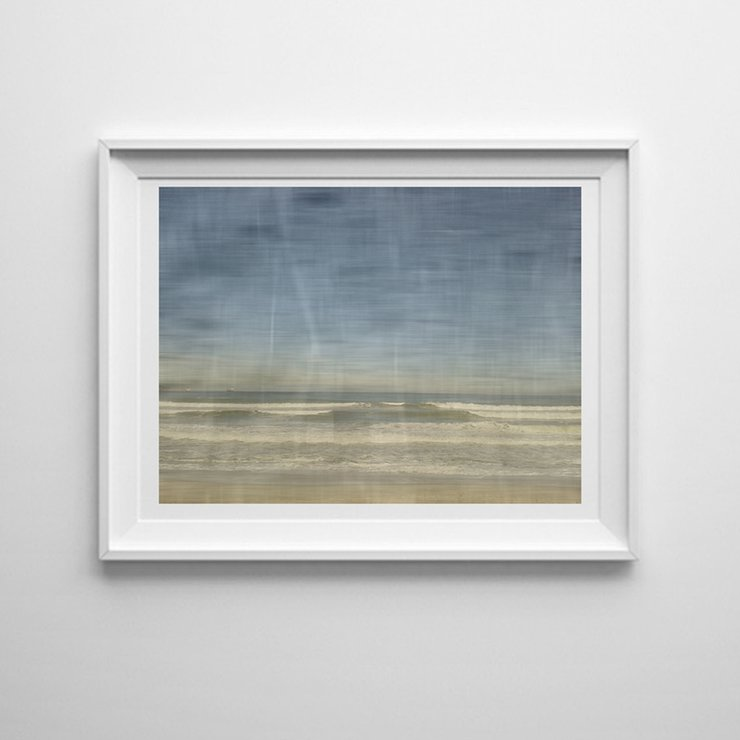 Beach Day - Printable Seascape Art Print Digital File by  ImPrintable | Art