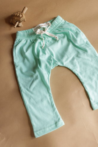 Baby Pants - Sea Glass - 6-12mnths by Little Tribe
