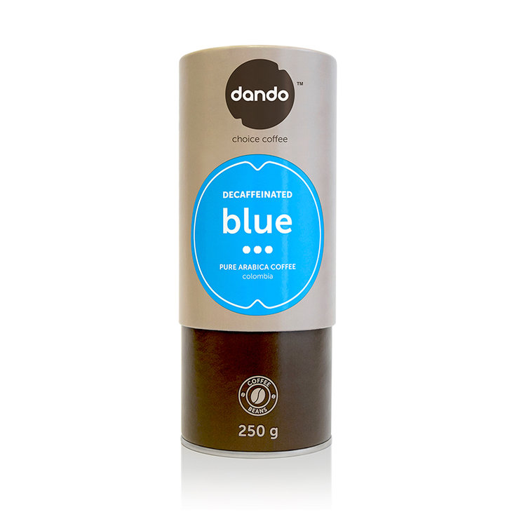 DANDO Blue - Decaffeinated by Dando Coffee (PTY) Ltd