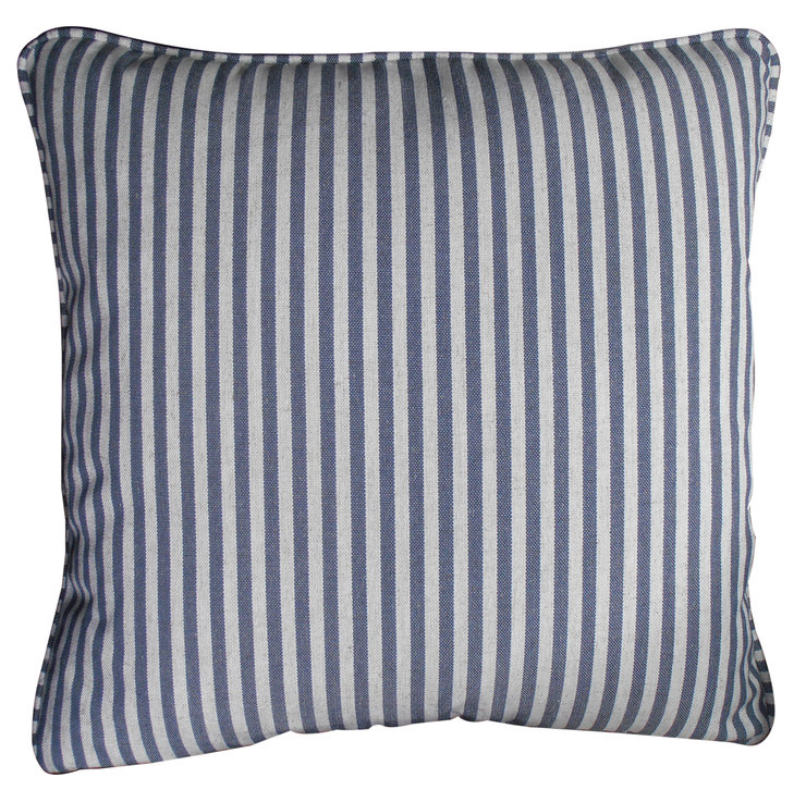 Beach Stripe Scatter Cushion by Waterlily decor