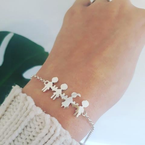 3 or 4 figure family bracelet by thula