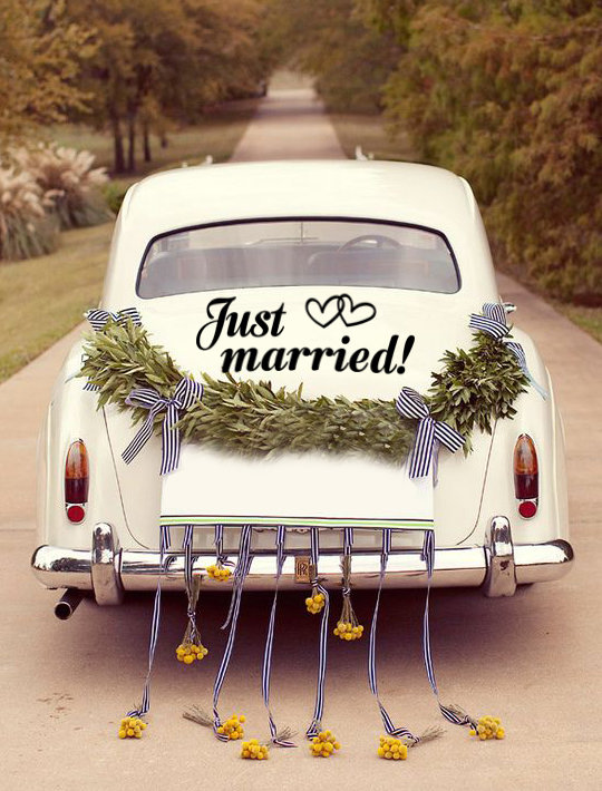 Just Married  by That Little Decor Company