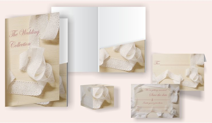 Lace Bridal Stationery by Marran Art & Photography
