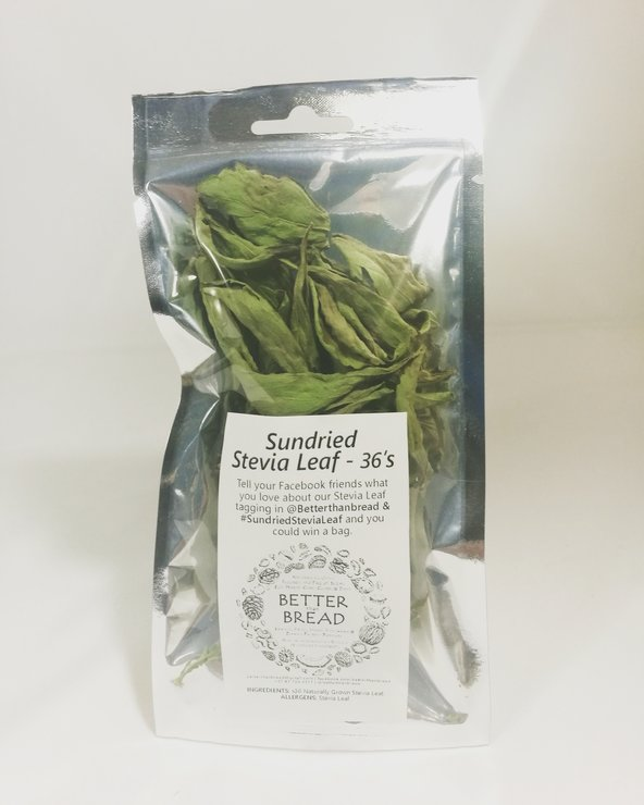 Better Than Bread Stevia Leaf 36's by Better Than Bread