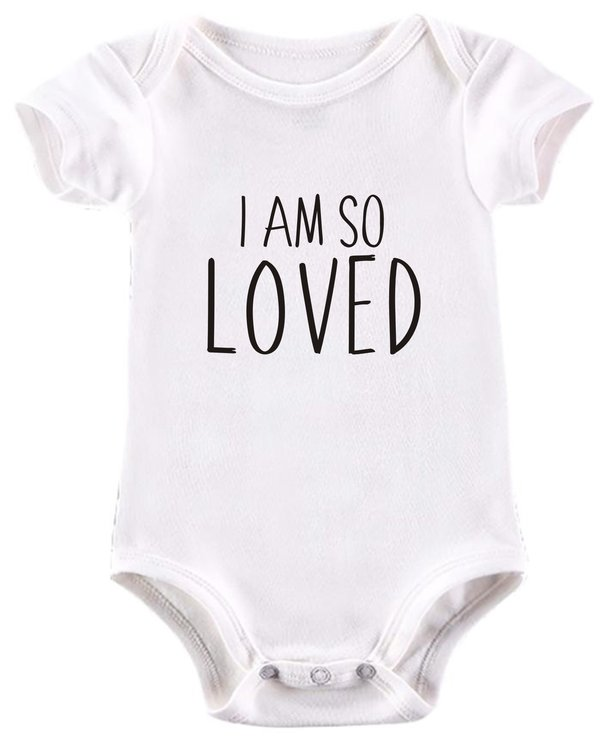 I am so Loved baby grow by BTSN Design (Pty)LTD