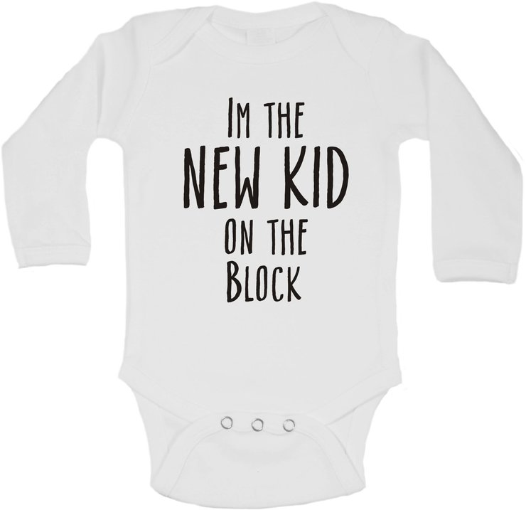 I'm the new kid on the block baby grow by BTSN Design (Pty)LTD