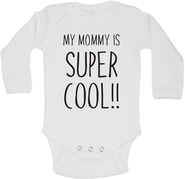 My Mommy is super cool baby grow by BTSN Design (Pty)LTD