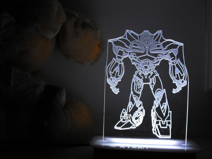 BumbleBee Transformers Night Light by Illuminate Creations