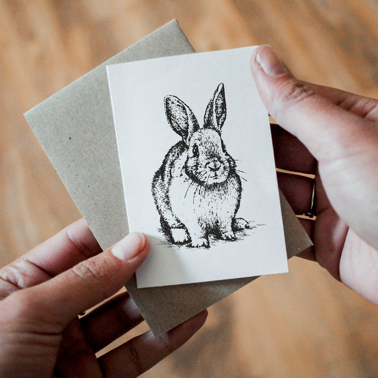 Gift card - Bunny x4 by That Studio