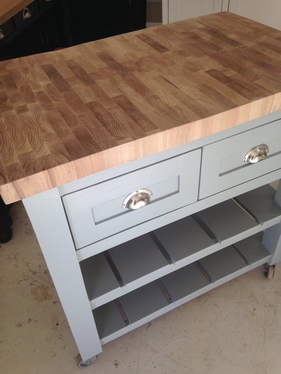 Kitchen Butchers Block Cape Town : Butchers Block with oak edge top Hello Pretty. Buy design.