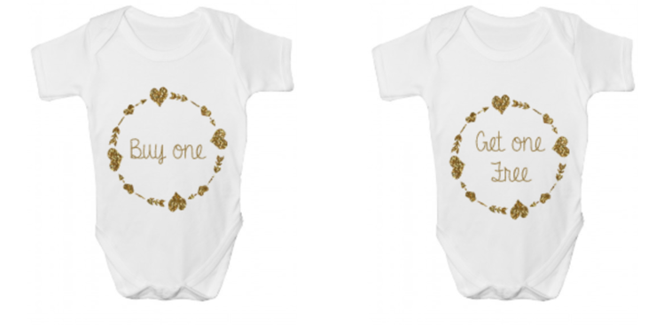 """Buy One, Get One"" Twin Design by Little Lambs"
