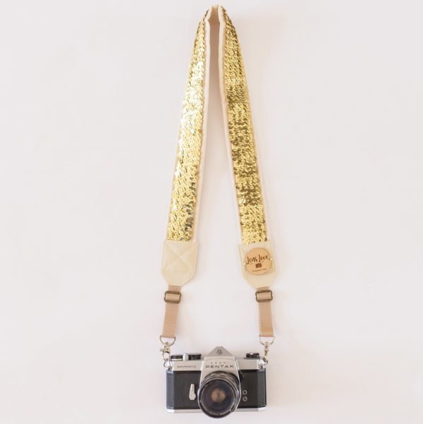 Minx Gold Camera Strap by Lens Love