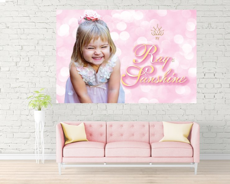Customized Wall Art Design by The Sparkling Star