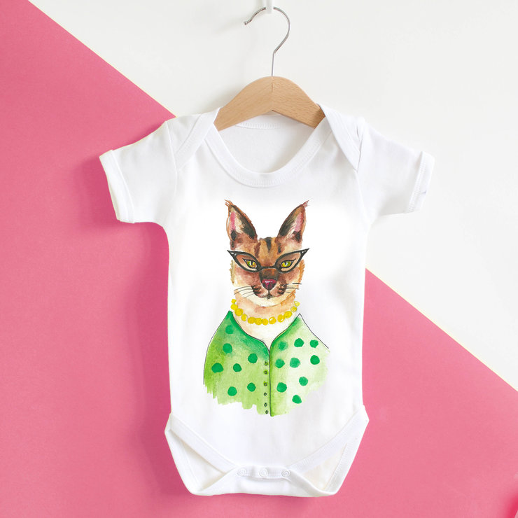 Celia Baby Grow by Mermaids & Monsters