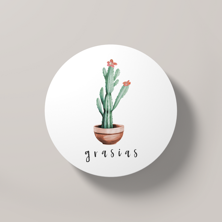 Grasias | Round Coaster by But Why Not