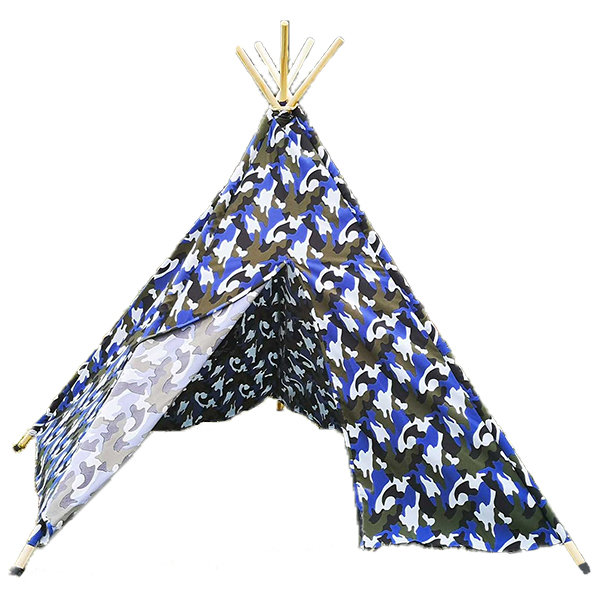 Teepee Tent - Camo Blue by Cheeky Monkey