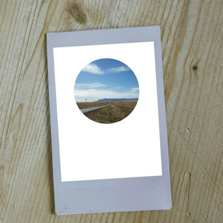 Digital Circular Print - Country Roads by Prints by Roxb