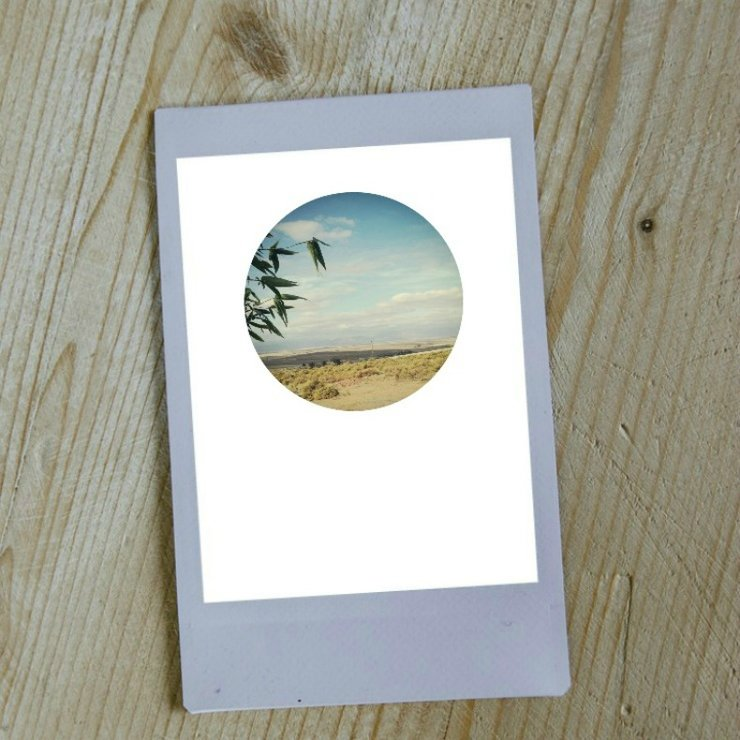 Digital Circular Print - Rural Landscapes by Prints by Roxb