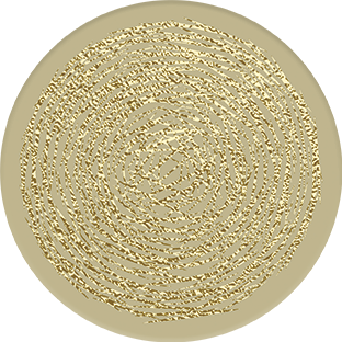 Coasters | LUXE Collection | Gold Circles | CL010 by RAkt