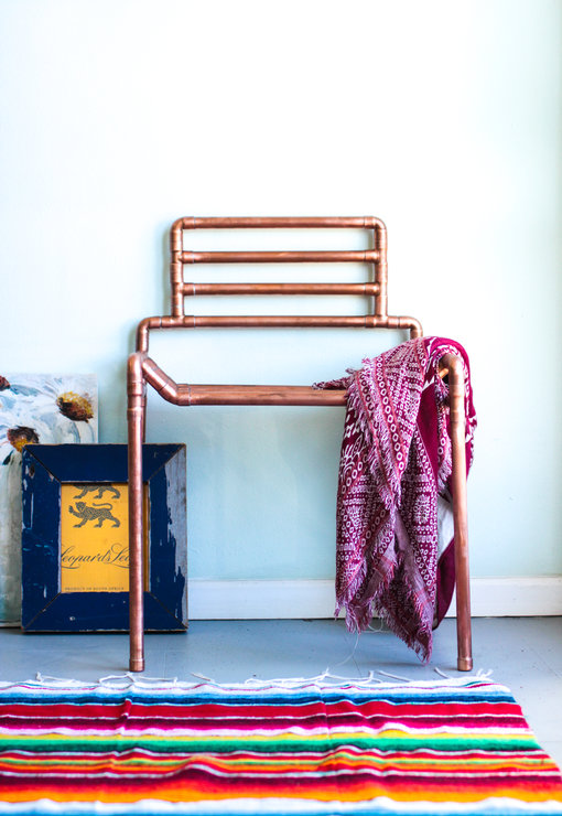 Copper Chair by Southern Lights Lamp Co
