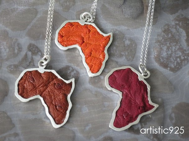 Large Africa by Artistic925Jewellery