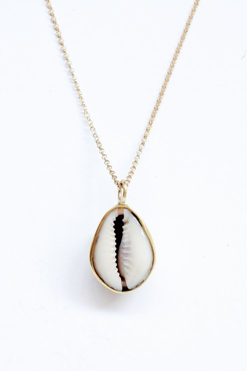 Cowrie Shell Necklace Hello Pretty Buy Design