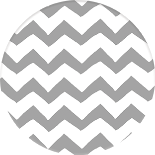 Coasters | PATTERNS Collection | Grey ZigZag | CP013 by RAkt