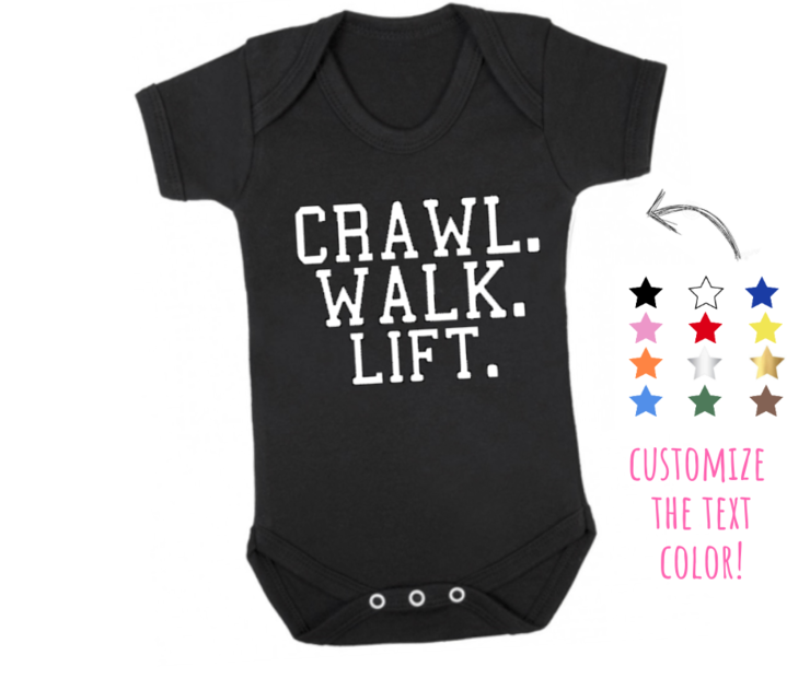 Newborn Unisex Baby Walk Infant Bodysuit Crawl Suit Showers Gifts For 0-18Months
