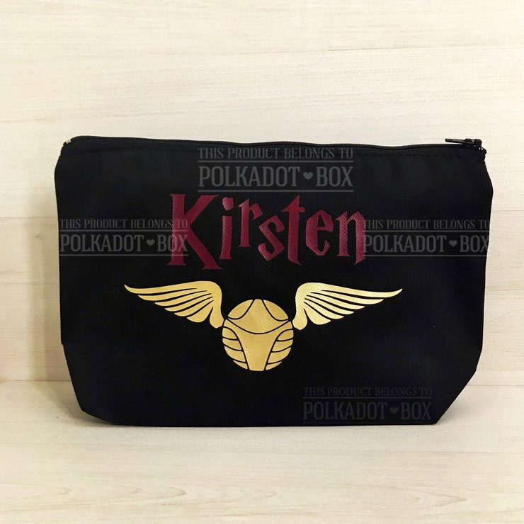 Harry Potter Make Up Bag  by Polkadot Box