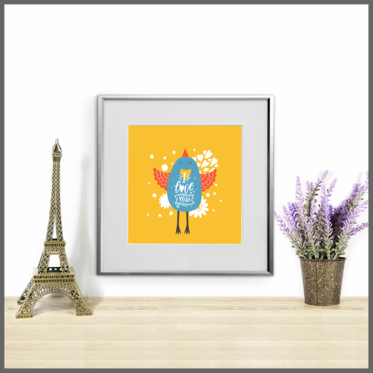 Cute Animals Set of 3 Nursery Prints/Posters/Wall Art  by The Art of Creativity Studio