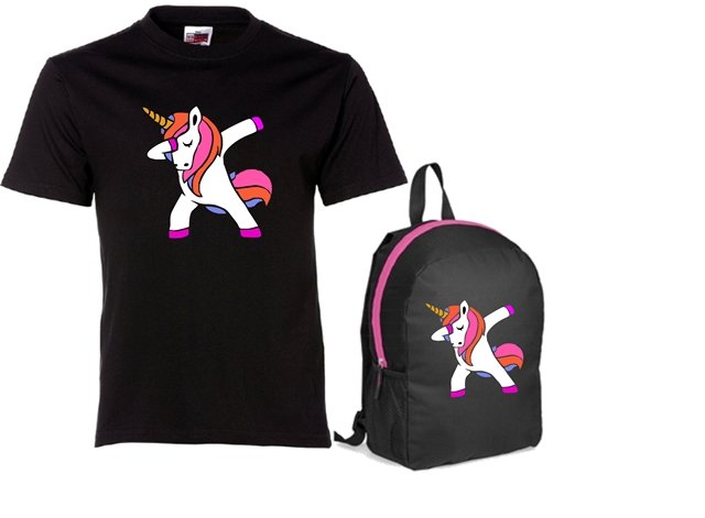 Dabbing Unicorn Combo by Qtees Africa (Pty)Ltd
